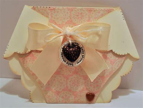 cutting cafe diaper shaped card invite set