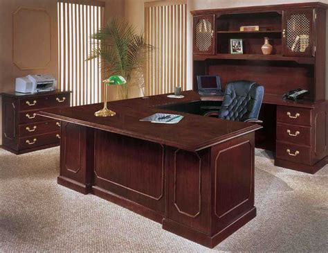 home office table desk executive home office furniture with wooden office desk
