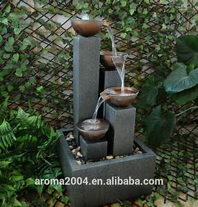 Instalar una fuente de agua decorativa en el jardin: Modelos