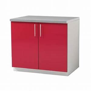 meuble bas cuisine marquise 2 portes 80 cm achat With porte d entrée pvc avec cdiscount meuble salle de bain 80 cm