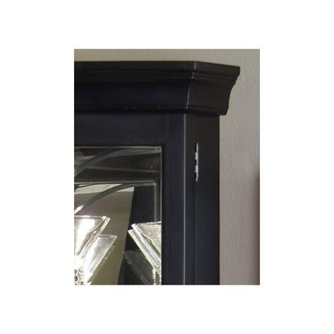 pulaski black corner curio cabinet pulaski oxford black corner curio cabinet 21220