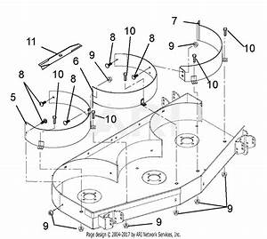 Ariens 788034 Mulching  48 U0026quot  Pro Deck  Kit Parts Diagram For Mulching Kit 48 52 Inch