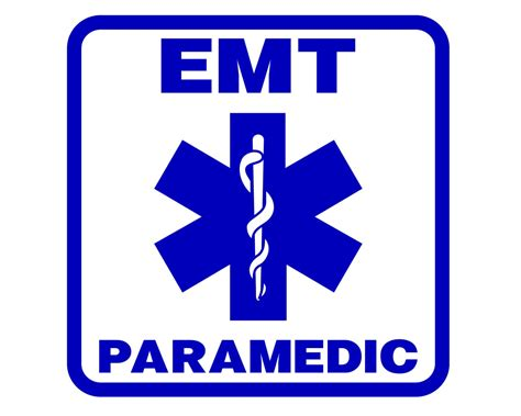 Paramedic Decal Emt Paramedic Sticker Emergency Medical