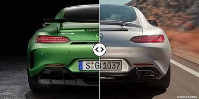 Amg Mercedes Gt Rear Annotated Caricos Comparisons