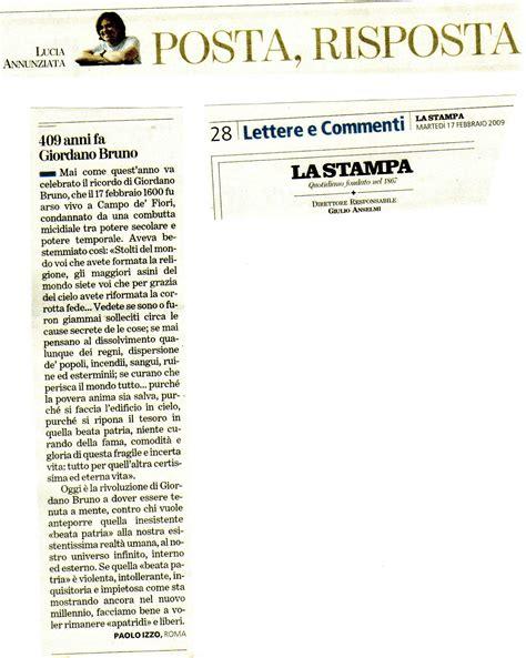 lettere ai giornali le lettere di paolo izzo ai giornali