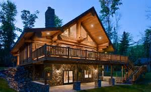 stunning small ranch plans stunning log homes designed by pioneer log homes of
