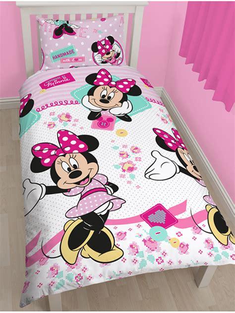copriletto minnie e topolino minnie mouse single quilt cover licensed