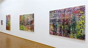 Gerhard Richter Unveils New Work At Museum Ludwig In