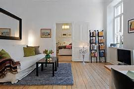 Apartment Room Ideas Decoration Swedish 58 Square Meter Apartment Interior Design With Open Floor Plan