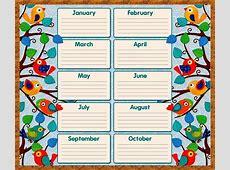 Free Birthday Calendar Template Printable Calendar 2018