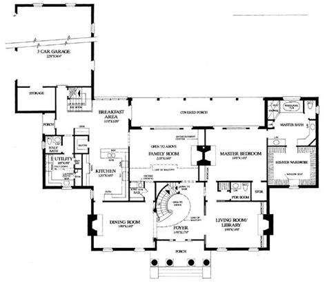 southern plantation floor plans colonial plantation southern house plan 86274