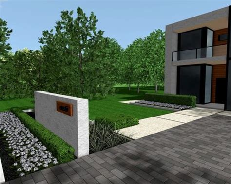 modern front yard modern front yards home design ideas pictures remodel and decor