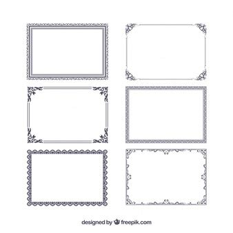 certificate frame images  vectors stock  psd