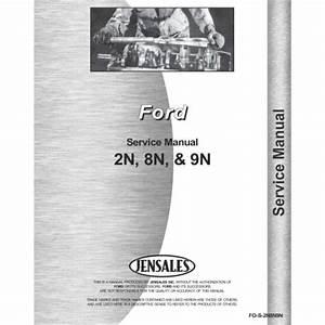 1952 Ford 8n Manual
