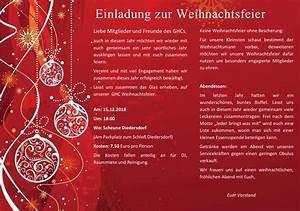 Spanische Weihnachtsgrüße An Freunde : einladung weihnachtsfeier verein ~ Haus.voiturepedia.club Haus und Dekorationen