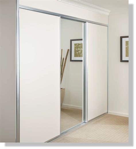 white 3 panel sliding closet doors sliding robe doors rapid glass