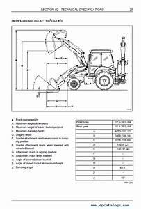 New Holland Loaders B100c  Clr  Ctc  B110c  Ctc  B115c Manual