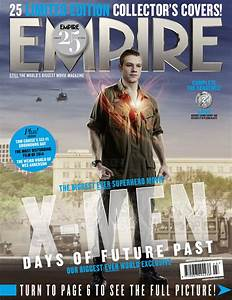 Empire Mag Days of Future Past cover - Lucas Till as Havok ...