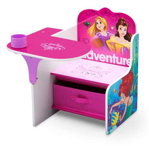 chair desk with storage bin disney princess chair desk with storage bin