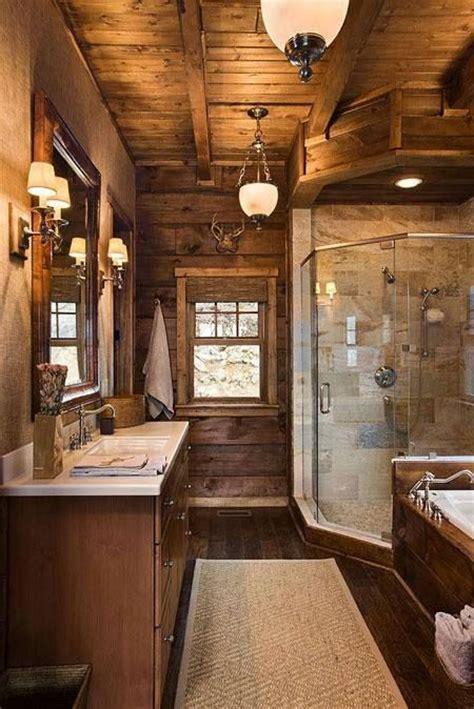 cabin bathrooms ideas rustic bathroom bathroom ideas