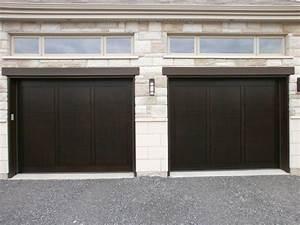 bien porte de garage et porte interieur bois massif With porte de garage et porte intérieure vitrée design