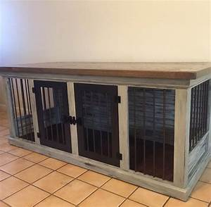 25 best ideas about dog crate furniture on pinterest With custom dog kennel furniture