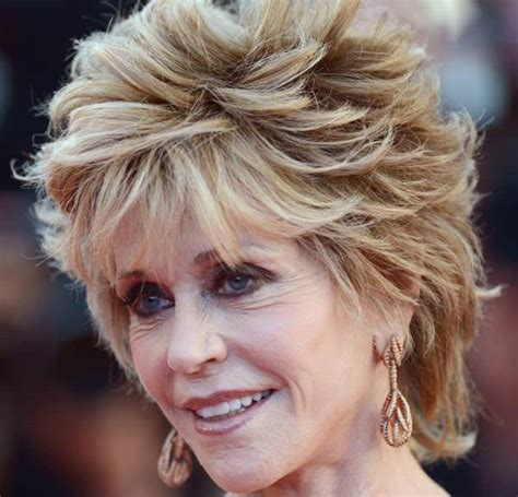 spectacular jane fonda hairstyles