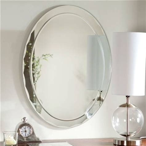 Beveled Edge Bathroom Mirror by 20 Best Of Beveled Edge Oval Mirrors