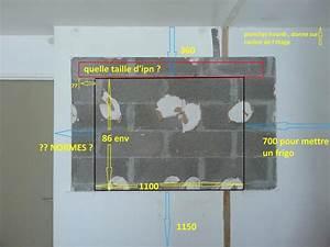 Ouverture Dans Un Mur Porteur : forum ma onnerie conseils cr ation ouverture dans mur ~ Melissatoandfro.com Idées de Décoration