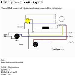 Hunter Ceiling Fan Capacitor by Electrical How Does A Multi Tap Motor Speed Control Work