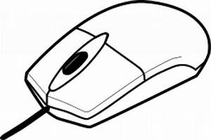 Computer mouse outline Vector | Free Download