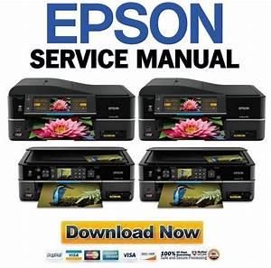 Epson Artisan 810   710 Service Manual  U0026 Repair Guide