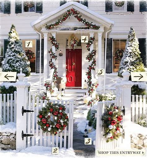 a whole bunch of christmas porch decorating ideas style