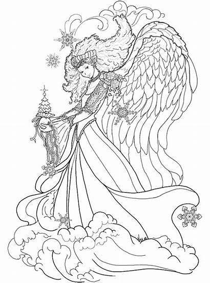 Coloring Pages Teens Teenagers Fairy