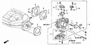 Honda Online Store   2000 Odyssey Throttle Body