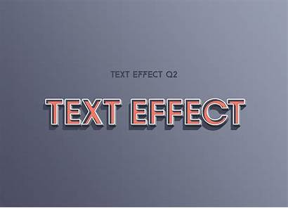 Text Photoshop Effects Effect Pack 3d Line