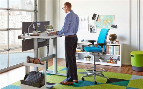 benefits of sit stand desk maximize your benefits from a sit stand desk office