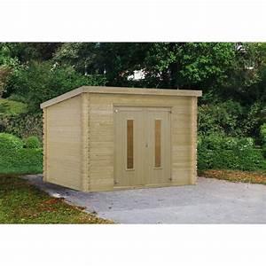 Abri En Kit : isoler toiture abri jardin bois polystyr ne extrud ~ Premium-room.com Idées de Décoration