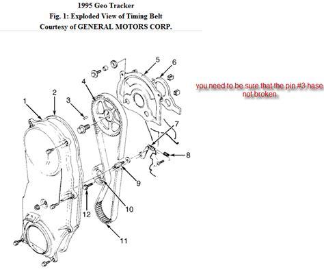 Geo Tracker Engine Diagram 8 Valve by I A 1995 Geo Tracker With A 1 6 Tb Engine Code U