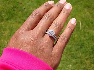 which finger is your engagement ring finger ritani With what finger do you wear your wedding ring on