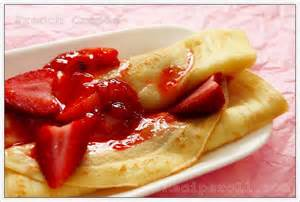 Strawberry Crepes Recipe French