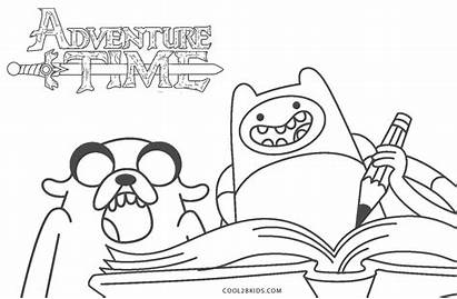 Adventure Coloring Pages Jake Finn Printable Cool2bkids