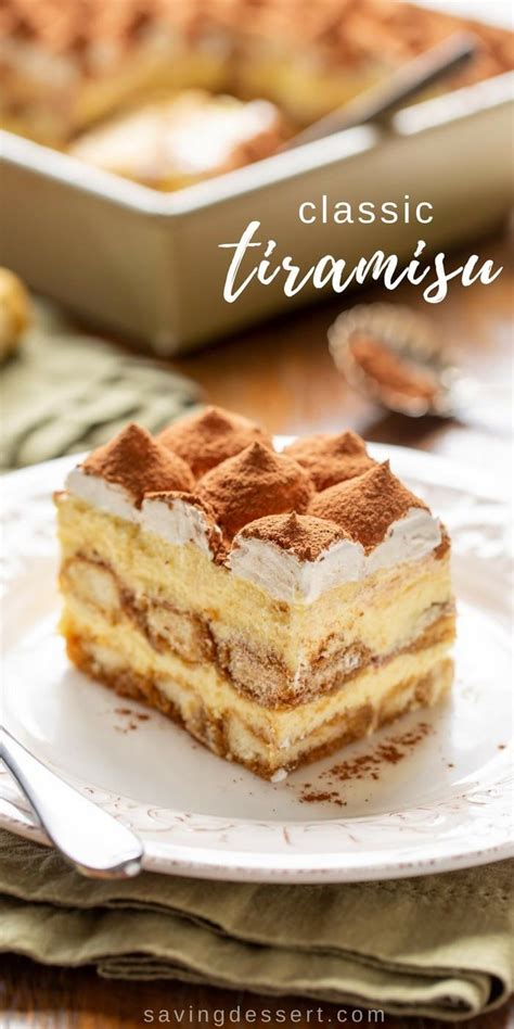 Flavors of vanilla and chocolate with undertones of amaretto, rum and sherry create this superb blend. Classic Tiramisu Recipe | Recipe | Easy tiramisu recipe, Classic tiramisu recipe, Dessert recipes
