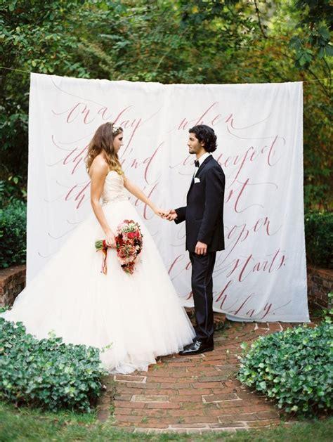 wedding ceremony backdrop idea  perfect backdrop
