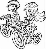 Wecoloringpage Cycle sketch template