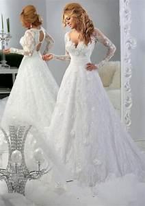 in 2016 new york long sleeved blouse ivory white wedding With long sleeve lace wedding dress white