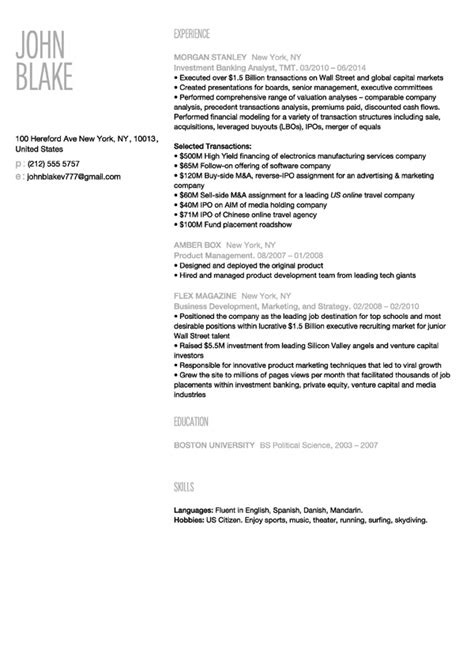 Make New Resume by 30 Resume Templates Make Your Resume Instantly