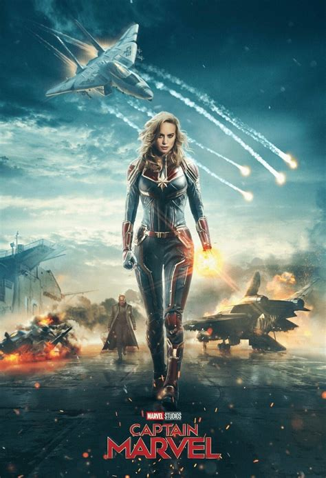 Captain Marvel (2019)  Posters — The Movie Database (tmdb