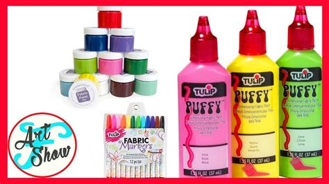 Different Types Of Fabric Paints
