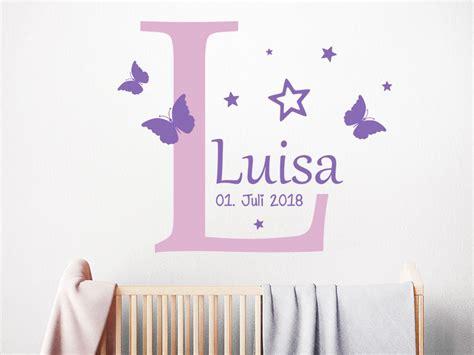 Wandtattoo Kinderzimmer Buchstaben by Wandtattoo Name Mit Buchstabe Und Sternen Wandtattoo De